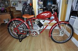 Whizzer motorcycle